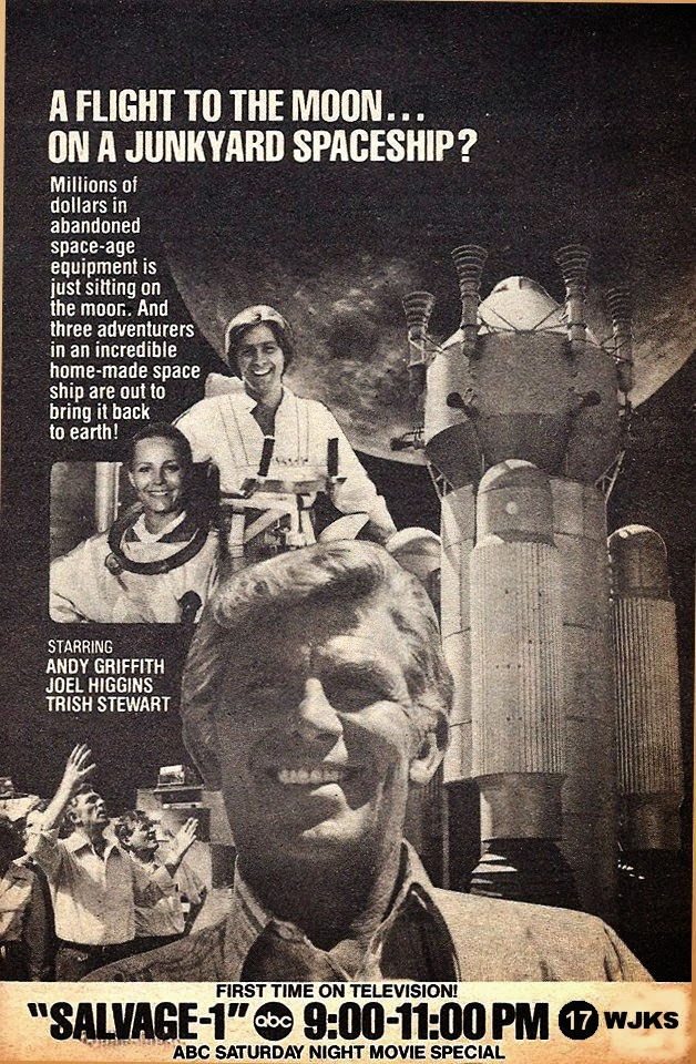 Newspaper Promotion for Salvage 1 starring Andy Griffith