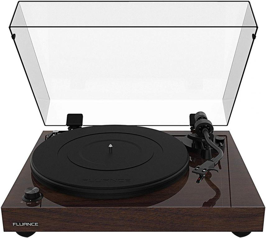 Fluance RT82 Reference High Fidelity Turntable (Walnut)
