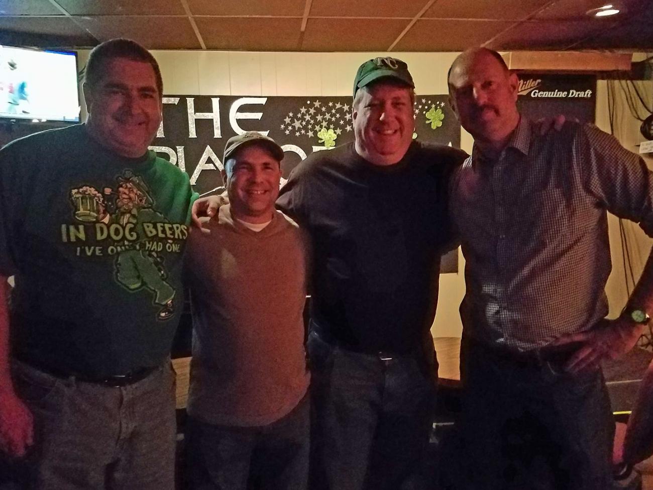 Charlie, Bryan, David, and John