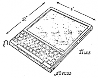 Illustration of the Dynabook