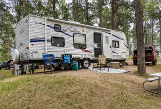 Camping in the Black Hills - Custer State Park