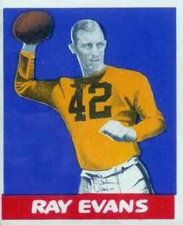 Ray Evans Steelers Football Player 1948